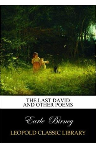 David and Other Poems Earle Birney