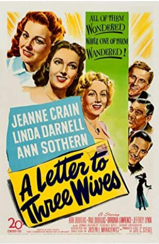 A Letter to Three Wives Joseph L. Mankiewicz