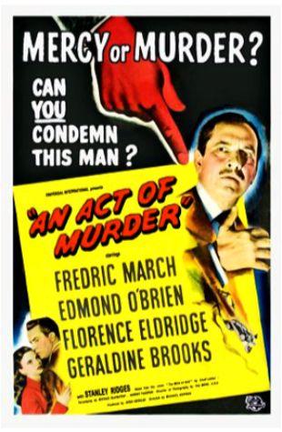 An Act of Murder Michael Gordon