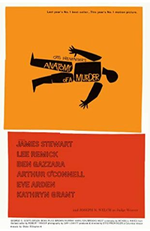 Anatomy of a Murder James Stewart