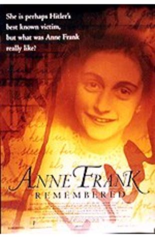 Anne Frank Remembered Jon Blair