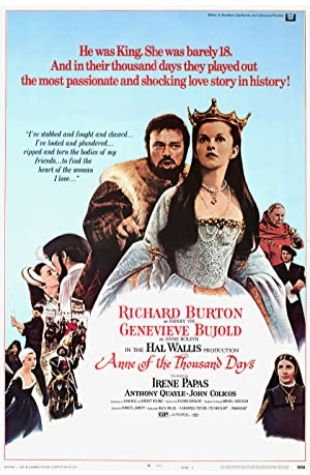 Anne of the Thousand Days Geneviève Bujold