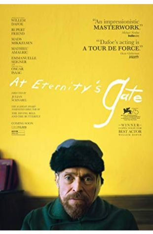 At Eternity's Gate Willem Dafoe
