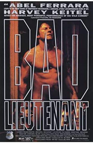 Bad Lieutenant Harvey Keitel