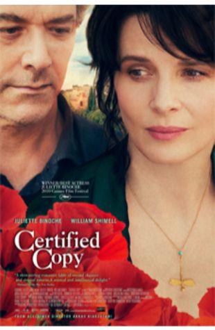Certified Copy Juliette Binoche