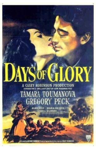 Days of Glory Vernon L. Walker