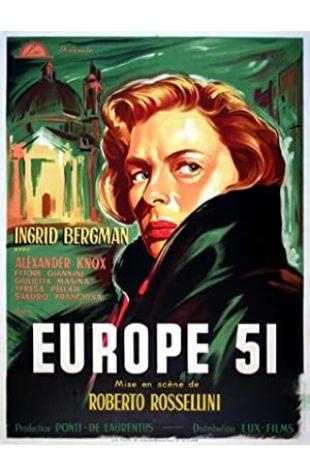 Europe '51 Ingrid Bergman