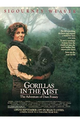 Gorillas in the Mist Sigourney Weaver