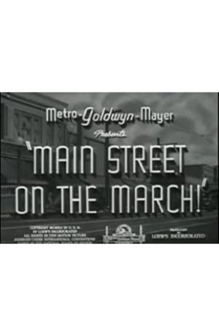 Main Street on the March! null