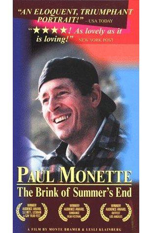 Paul Monette: The Brink of Summer's End Monte Bramer