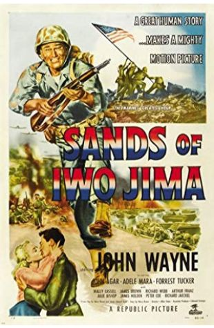 Sands of Iwo Jima Harry Brown