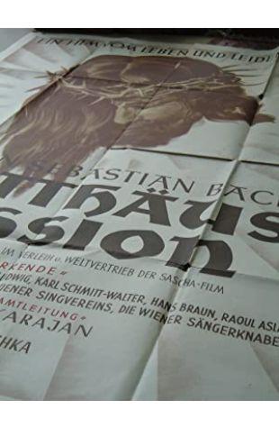 St. Matthew Passion Ernst Marischka