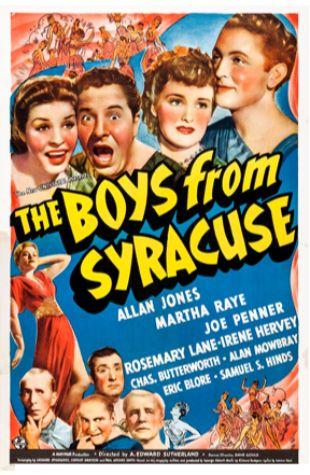 The Boys from Syracuse John P. Fulton