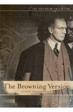 The Browning Version Terence Rattigan