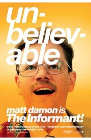 The Informant! Matt Damon