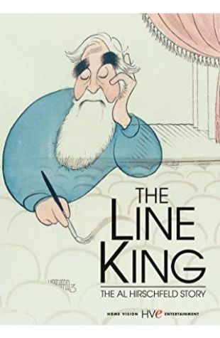 The Line King: The Al Hirschfeld Story Susan Warms Dryfoos