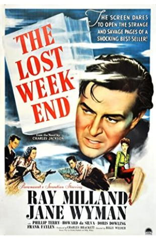 The Lost Weekend Ray Milland