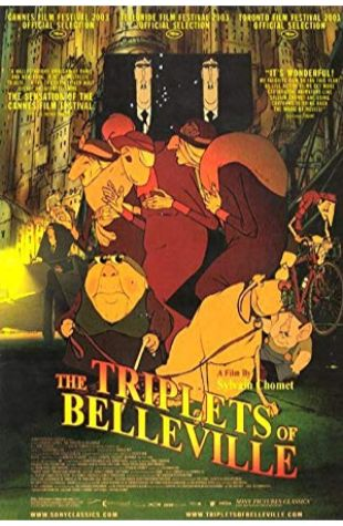 The Triplets of Belleville Sylvain Chomet