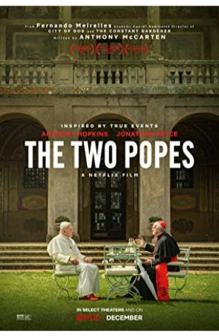 The Two Popes Anthony McCarten
