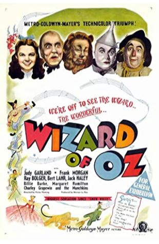 The Wizard of Oz Harold Arlen