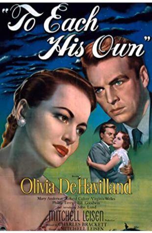 To Each His Own Olivia de Havilland