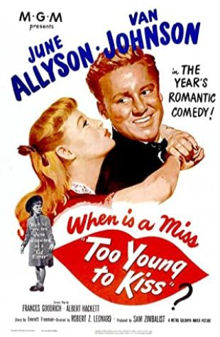 Too Young to Kiss June Allyson