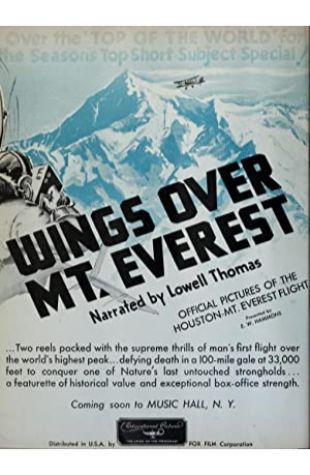 Wings Over Everest null