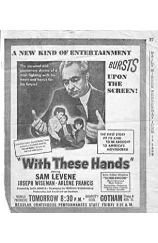 With These Hands Jack Arnold
