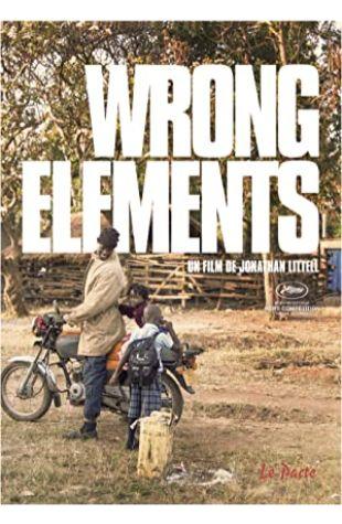 Wrong Elements Jonathan Littell