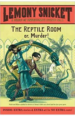 The Reptile Room Lemony Snicket