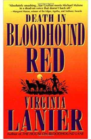 Death in Bloodhound Red by Virginia Lanier