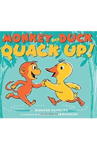 Monkey and Duck Quack Up Jennifer Hamburg