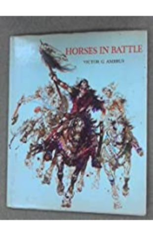 Horses in Battle by Victor Ambrus