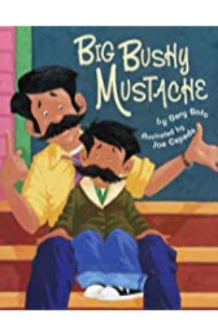 Big bushy mustache Gary Soto
